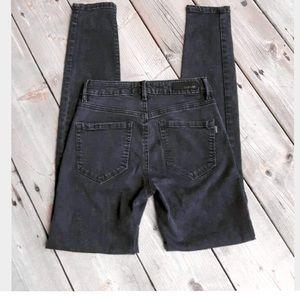Garage Black Ripped Jeans